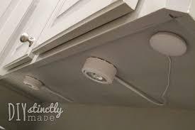 under cabinet plug in lighting. recessed u0026 undercabinet lighting diystinctlymadecom under cabinet plug in b