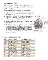 Easyboot Epic Size Chart Bedowntowndaytona Com
