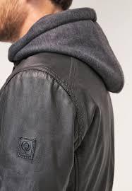 men jackets oakwood jimmy leather jacket noir oakwood classic jackets oakwood mall