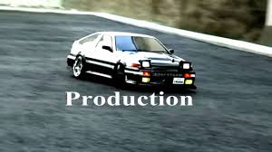 AE86 Trueno RC Drift TB-03 of TAMIYA - YouTube