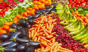 Rainbow Fruits And Vegetables Chart Fruit Vegetables And Wholegrains The Heart Foundation