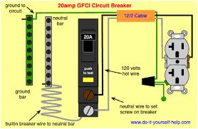 electrical wiring gfci circuit breaker wiring diagram local gfci circuit breaker wiring wiring diagram home electrical wiring gfci circuit breaker