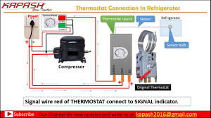 refrigerator thermostats wiring diagram wiring diagram for you • thermostat wiring connection in hindi part 2 rh com frigidaire refrigerator thermostat wiring diagram