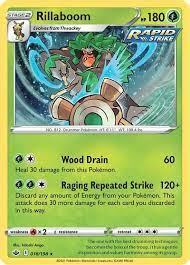 Check spelling or type a new query. Rillaboom Swsh06 Chilling Reign Pokemon Tcgplayer Com