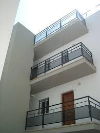 #Edificios #Moderno #Balcon #Exterior #Puertas #Barandillas #Ventanas   Balcony GrillRailing ...