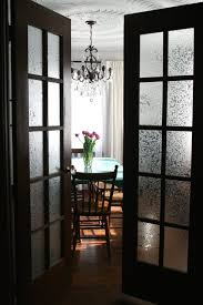 frosted glass doors with french design styles also black painted for within decor 16