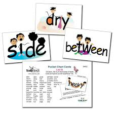 Snapwords List G Pocket Chart Cards
