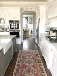 farmhouse style kitchen rugs awe 18 best area for design ideas remodel pictures interiors 5