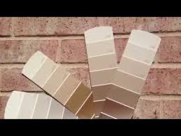 Small Picture Exterior Paint Sample Colors Pink Brick YouTube