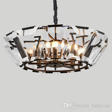 american nordic artistic led pendant crystal chandelier classic new creative retro led pendant lamps hotel villa modern pendant lanterns