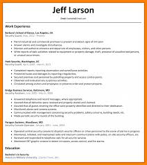Security Guard Job Description Template Resume For Officers Apply