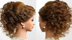 Prom Wedding Updo Romantic Hairstyle For Long Medium Hair