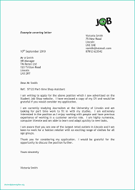 Cover Letter To University Formal Letter Example University Application 25 Cover