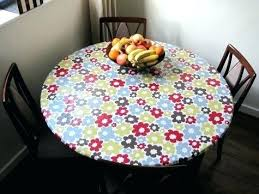 plastic table covers with elastic fitted vinyl table cloth large vinyl fitted round tablecloth elastic edge