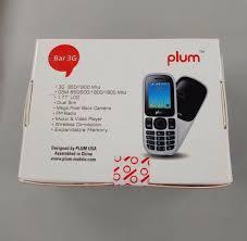 Plum TM Bar 3G Black Cell Phone-A103 ...