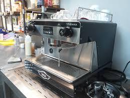 Máy pha cà phê Wega Lunna EVD 1GR   Nhập khẩu Ý bảo hành 12 tháng