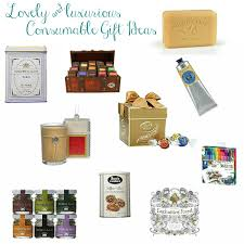 lovely and luxurious consumable gift ideas