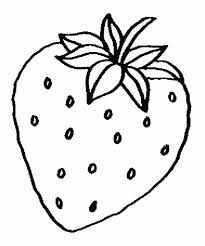 strawberry coloring page new post