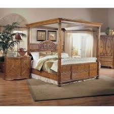 tropical bedroom furniture. Tropical Furniture Retreat Poster Canopy Bedroom Set By Broyhill To Pinterest