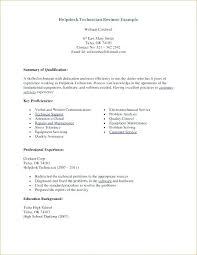 Help Desk Technician Resume Help Desk Technician Resume Template Entry Level It Sample