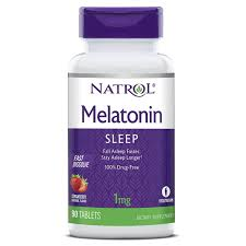 Lights Out Sleep Allmax Review Natrol Melatonin Strawberry 1 Mg 90 Fast Dissolve Tablets