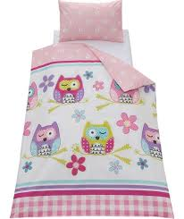 chad valley owl duvet cover set toddler at argos co uk your for children s bedding sets izzy s new bedroom ideas argos