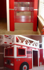 firefighter bedroom ideas. fire truck bunk bed | toddler costco loft with slide firefighter bedroom ideas m