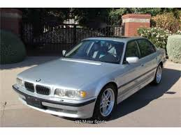 BMW Convertible bmw 7 2001 : 2001 BMW 7 Series for Sale | ClassicCars.com | CC-912080