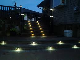 deck accent lighting. 2 smd led license plate light on deck and patio steps for accent lighting