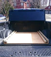 full image for homemade truck bed storage drawers diy bed slide ford truck enthusiasts forums homemade