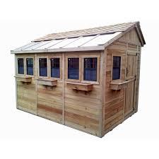 cedar garden shed. Contemporary Garden Outdoor Living Today Sunshed 8 Ft X 12 Western Red Cedar Garden Shed With