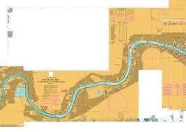 River Thames Tower Bridge To Teddington Marine Chart