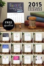 free printable motivational desk calendar from elegance enchantment