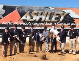 Ashley Furniture Celebrates Phase 13 Expansion in Ecru MDA