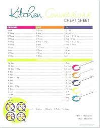 units of measurement conversion chart pdf kitchen conversion chart baking conversion charts and food