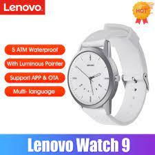 Đồng Hồ Đeo Tay Thông Minh Lenovo Watch 9 50atm Chống Nước Hỗ Trợ Đếm Bước  Chân Kèm Phụ Kiện