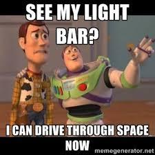Funny LED Truck Light Bar Memes- SEE MY LIGHT BAR? | www ... via Relatably.com