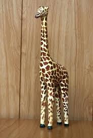 giraffe figurines hand carved wooden giraffe figurine giraffe ornaments figurines giraffe figurines