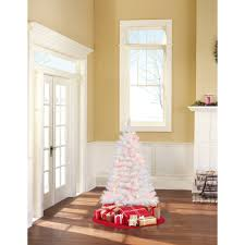 Artificial Christmas Trees  Mini Unlit And PreLit Trees4 Christmas Trees
