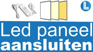 Installatie Led Panelen Ledpaneelgroothandelnl