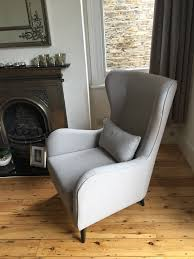 Modern High Back Chairs For Living Room J Brown Cotton Harbour Colour 35 Dove Was Used On This Modern