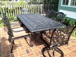 best cast aluminum outdoor furniture cast aluminum outdoor furniture cleaner