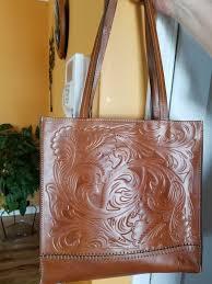 patricia nash tote leather bag