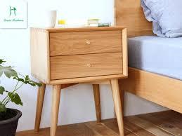 Oak Night Stand White Oak Wood Nightstand Simple Modern Bedroom Furniture  Cabinet Drawer Bucket Cabinet Cabinet . Oak Night Stand ...