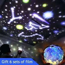 constellation night light constellation night light planet magic meteor projector universe led lamp colors rotary