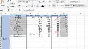 How To Make A Budget In Excel Our Simple Step By Step Guide