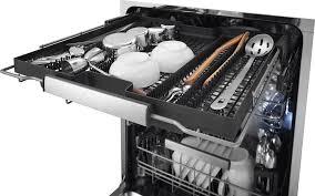 third rack dishwasher. Electrolux IQTouch Series Third Rack Inside Dishwasher