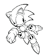 Sonic Pictures To Color Together With Sonic Printable Coloring Pages