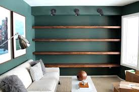 how to build a wall bookcase step by full shelves country floor ceiling bookshelves with ladder