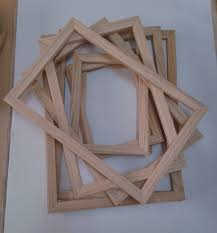 canvas wood frames